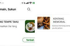 11 Nama dan deskripsi menu makanan di aplikasi ojek online, kocak