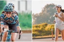 10 Potret Gisella Anastasia hobi olahraga, dari ngegym hingga sepeda