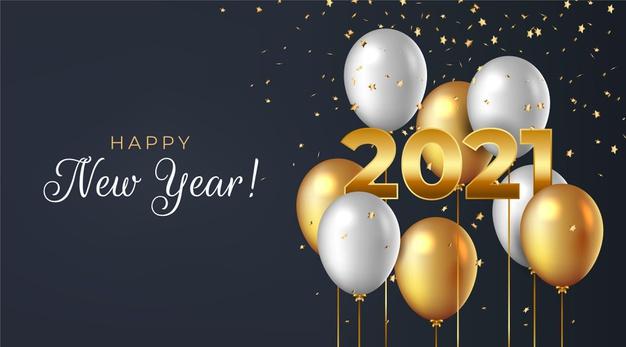 Tahun Baru 2021 orang tua © freepik.com