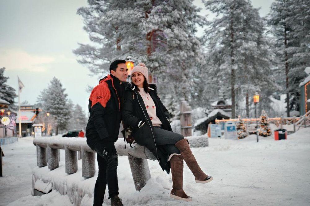 Anniversary Darius sinathrya dan Donna Agnesia © 2020 brilio.net