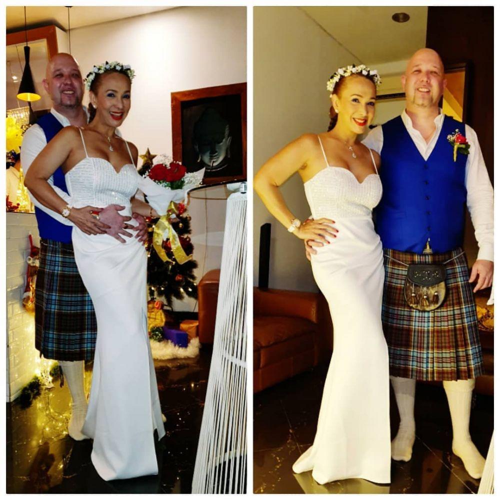 potret pernikahan Kiki Fatmala Instagram