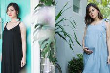 Hamil anak kedua, ini 10 potret Tiwi eks T2 pamer baby bump