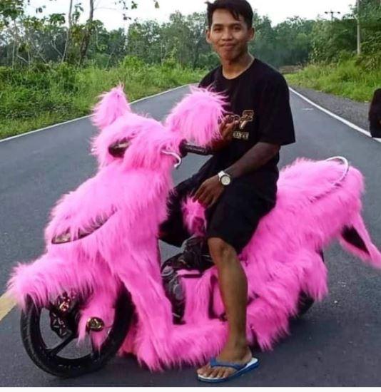 10 Sepeda motor modifikasi istimewa
