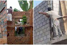 10 Aksi kocak tukang bangunan renovasi rumah ini bikin geleng kepala