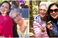 10 Potret kebersamaan Ira Wibowo dan ibu bulenya, curi perhatian