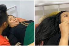 Viral momen wanita melahirkan sambil makeup, santai abis