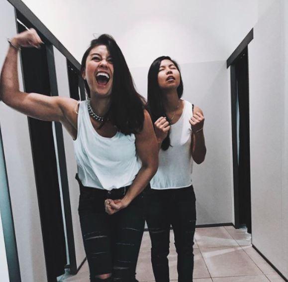 persahabatan agnez mo dan greysia polii Instagram