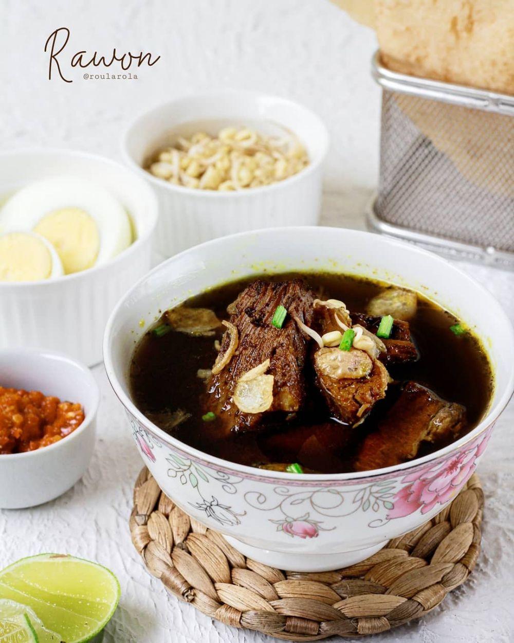 Resep kreasi daging manis © Instagram