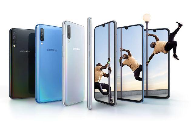 Samsung A70 Precio de HP © samsung.com