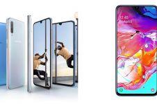 Harga HP Samsung A70 serta spesifikasi, kelebihan, dan kekurangan