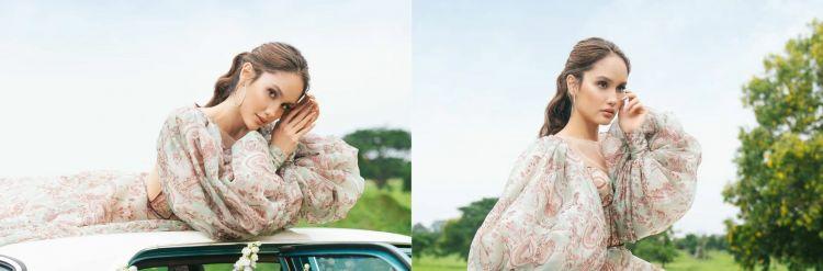 7 Gaya pemotretan Cinta Laura dengan tema vintage, stunning abis