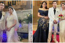10 Momen pernikahan Natasha Wilona & Stefan William di 'Anak Band'