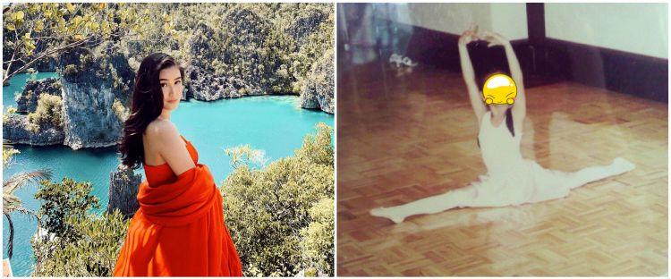 10 Potret masa kecil Karen Vendela, cantik jago balet
