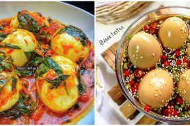 15 Resep olahan telur bulat, enak, sederhana, dan bikin nagih