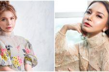 10 Potret Rossa tampil dengan Korean makeup look, manglingi