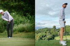 Potret 8 seleb ganteng saat main golf, ada yang ikut turnamen nasional