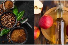 Cara membuat masker kopi dan cuka apel untuk kulit sehat dan bersih