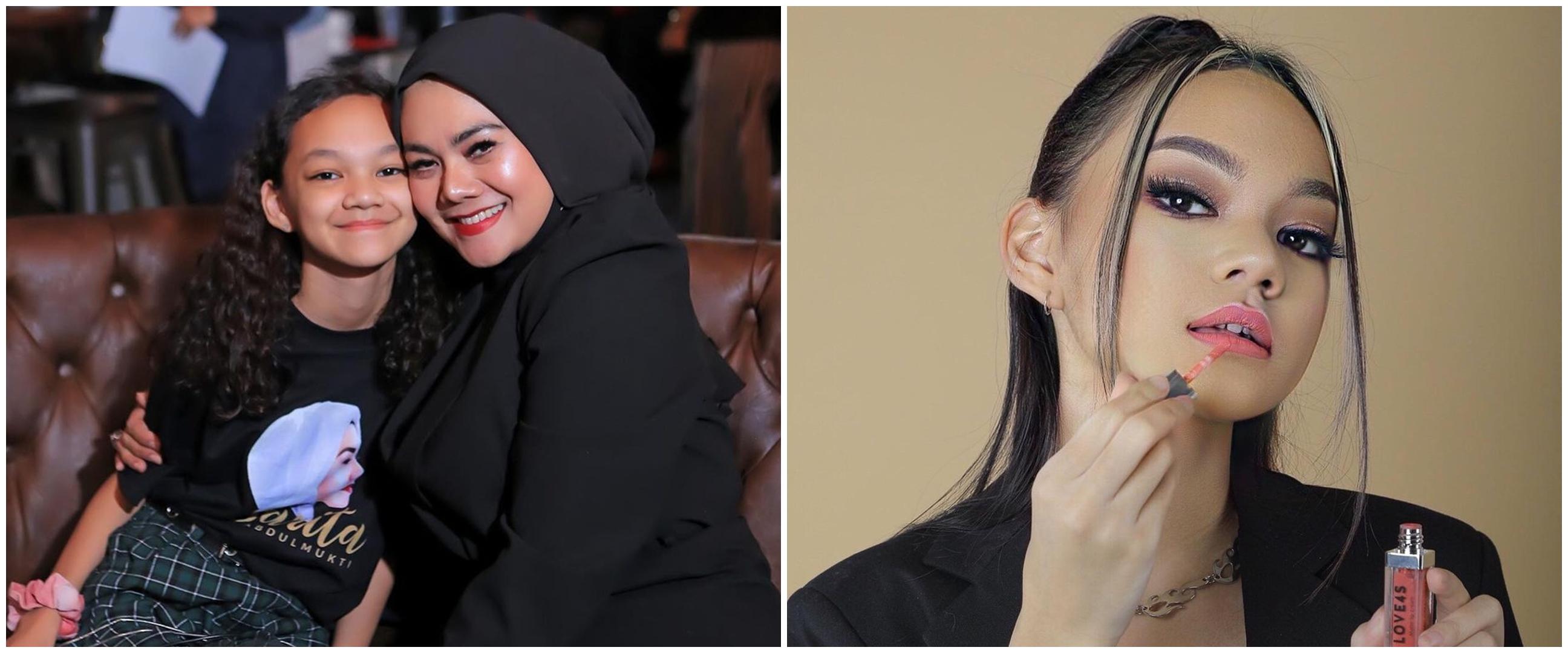 10 Pesona Shabina Mecca, bungsu Sarita Abdul Mukti yang sudah remaja