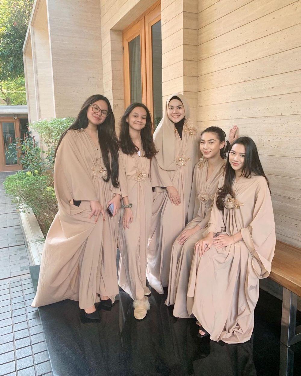 Shabina Mecca putri bungsu Sarita © Instagram