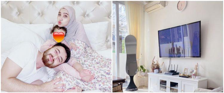 10 Penampakan rumah Irvan Farhad, instagrammable dengan nuansa putih