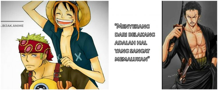 40 Kata-kata bijak Zoro One Piece, keren dan penuh motivasi