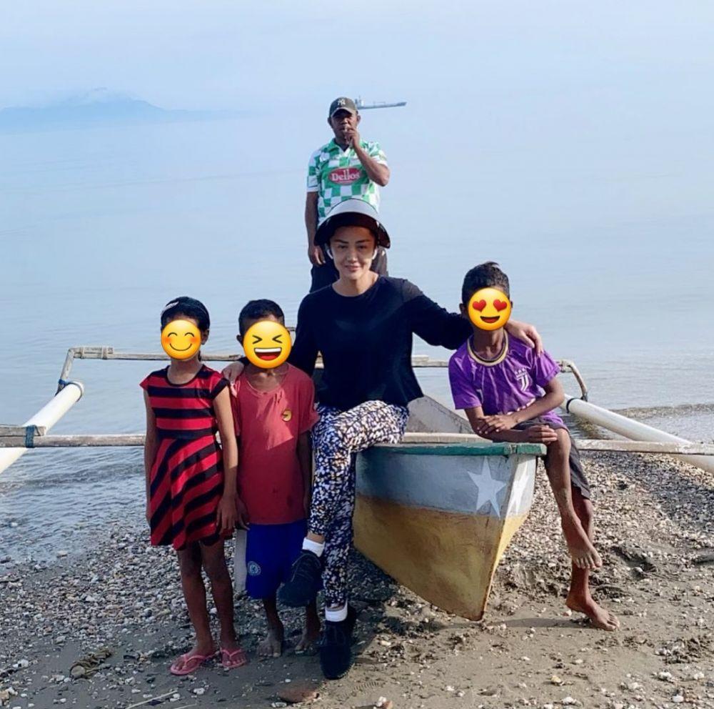 Liburan Krisdayanti dan keluarga di Timor Leste © 2021 brilio.net