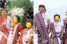 10 Potret liburan Krisdayanti di Timor Leste, pakai busana tradisional