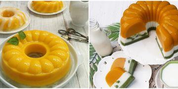 10 Resep puding labu kuning, enak, lembut, dan praktis