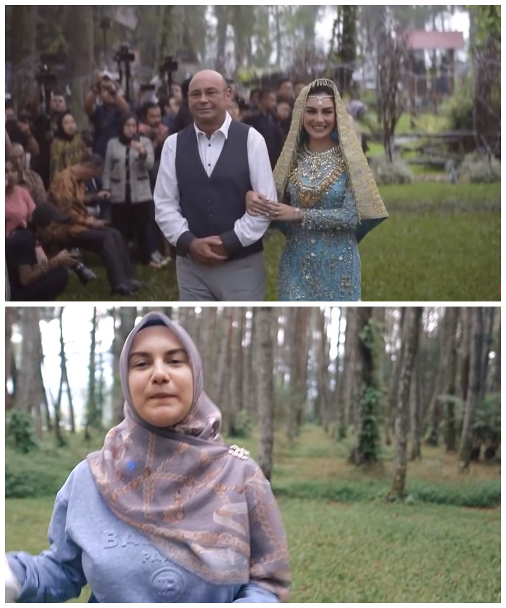 Irish Ammar nostalgia tempat pernikahan © YouTube