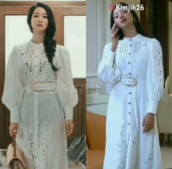 Seleb kembaran baju dengan artis Korea © 2021 brilio.net