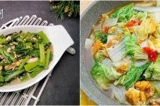 10 Resep cah sawi ala rumahan, sehat, sederhana dan mudah dibuat