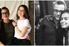 10 Potret kedekatan Eva Celia dan ayah tirinya Michael Villareal