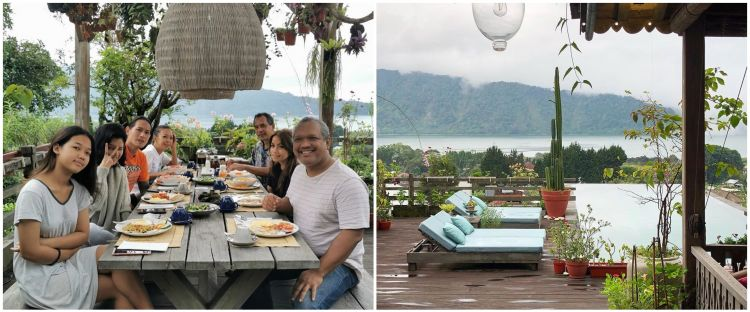 10 Potret villa tempat Chef Juna & Citra Anidya liburan, view-nya kece