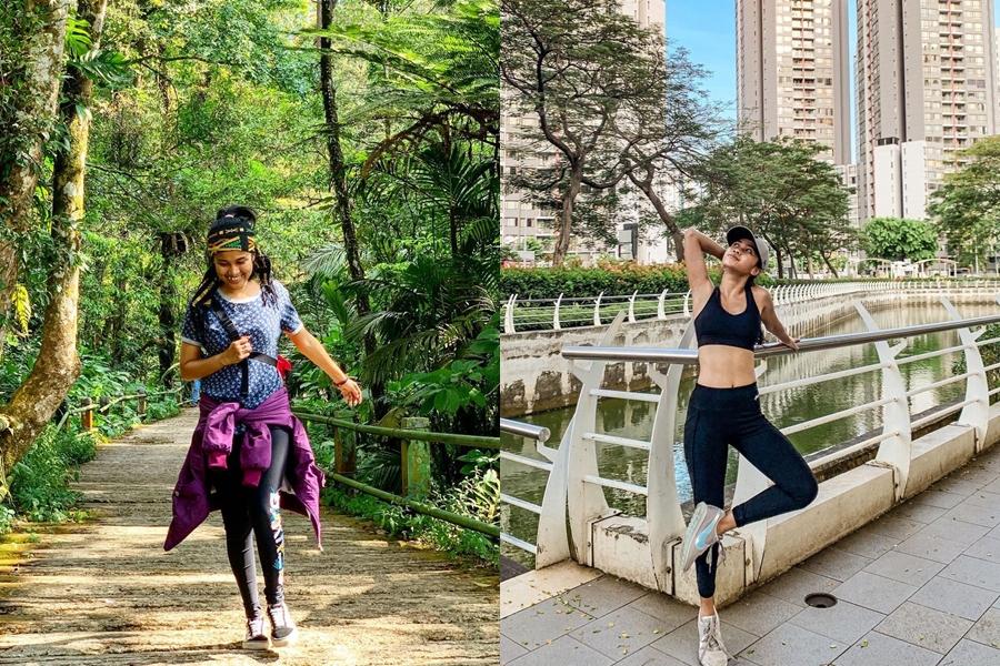 Beda gaya Chika Waode dan Ayya Renita © Instagram