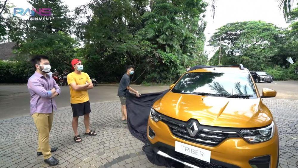 mobil baru Dimas © YouTube