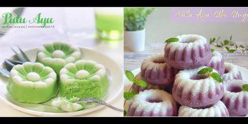 10 Resep kue putu ayu, enak, lembut, anti gagal dan bisa dijual