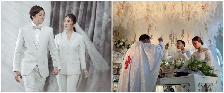 Sah! Ini 10 momen pemberkatan nikah Felicya Angelista & Caesar Hito