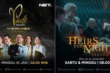 Nih 2 Program unggulan NET TV yang siap menghibur pemirsa di rumah