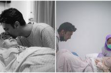 10 Momen kelahiran buah hati pertama Vebby Palwinta, penuh perjuangan