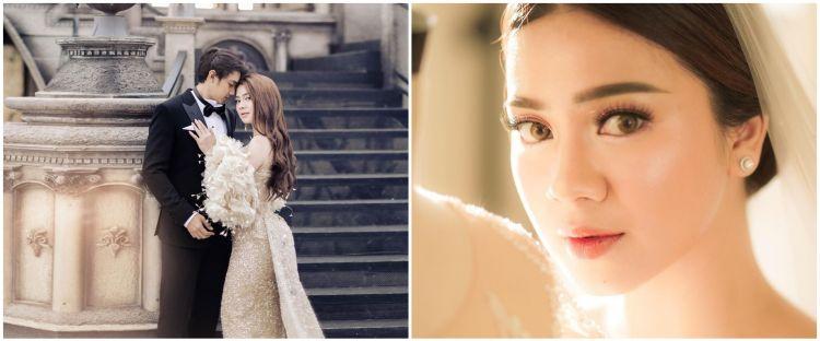 6 Potret gaun nikah Felicya Angelista, rancangan desainer kondang