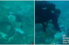 Viral video penampakan puing-puing Sriwijaya Air SJ 182 di dasar laut