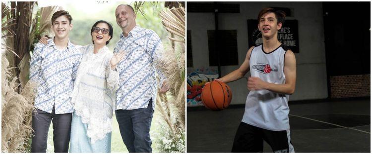 11 Pesona Bejo Kaler, putra Oppie Andaresta yang jago main basket