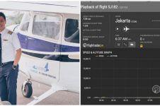 Analisa data flightradar24 Sriwijaya Air SJ182 oleh Captain Vincent