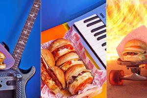 Nih burger kekinian rasa otentik Asia, berlumur saus Gochujang & Miso