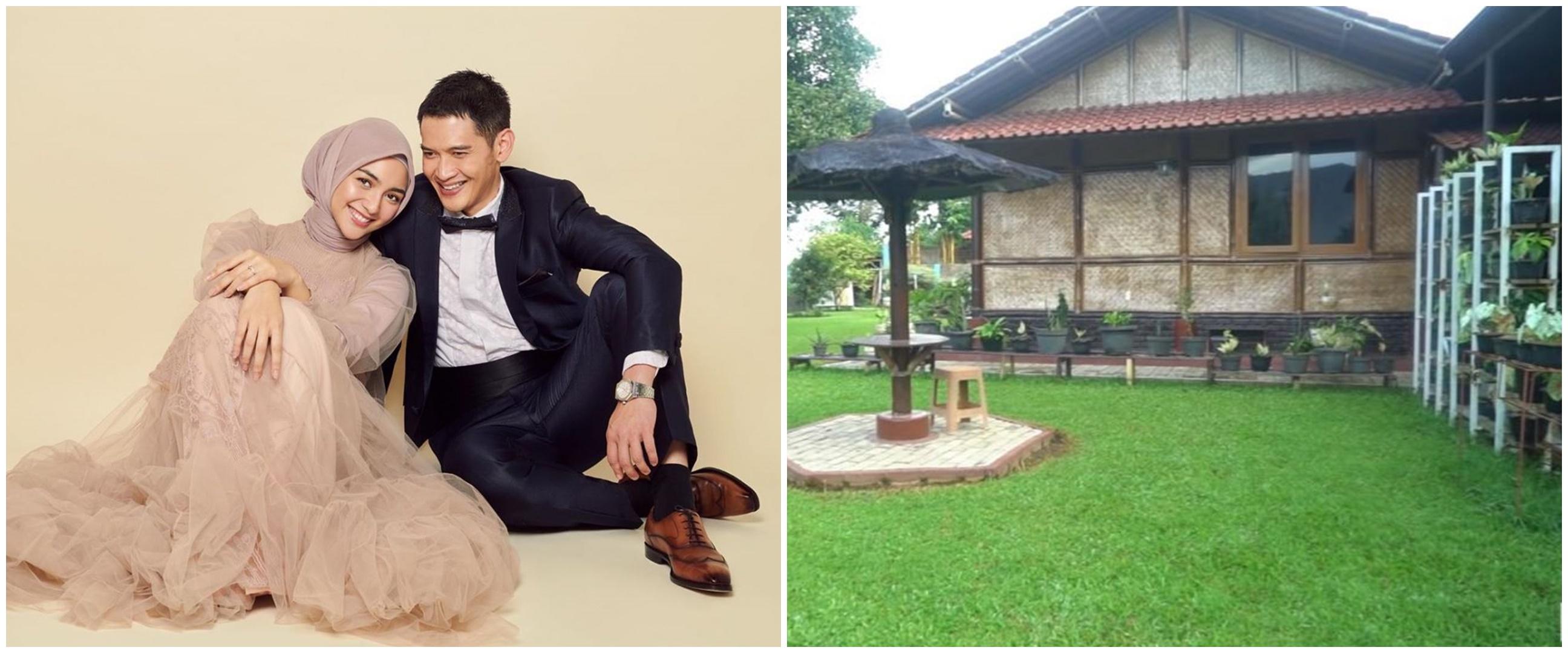 Potret vila 8 pesinetron Tanah Air, punya Citra Kirana saung bambu