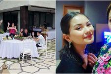 8 Momen dinner Maia Estianty di Bali, undang keluarga Alyssa Daguise