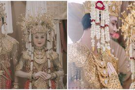 10 Pemotretan Dinda Hauw & Rey Mbayang pakai baju Palembang, memesona