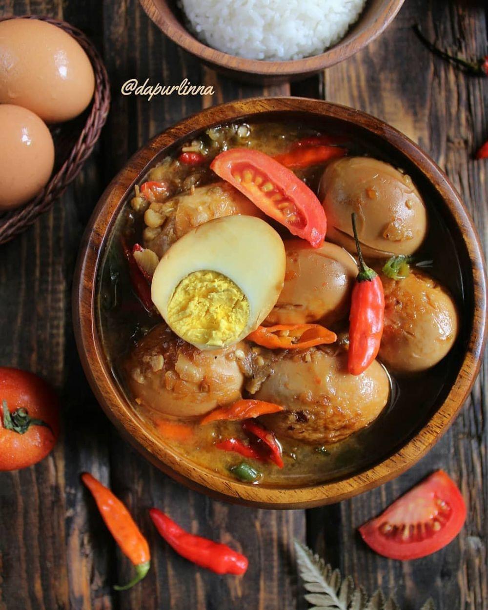 Resep kreasi telur pedas © Instagram