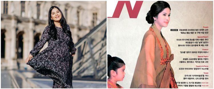 5 Potret lawas Annisa Pohan jadi cover majalah Korea, curi perhatian