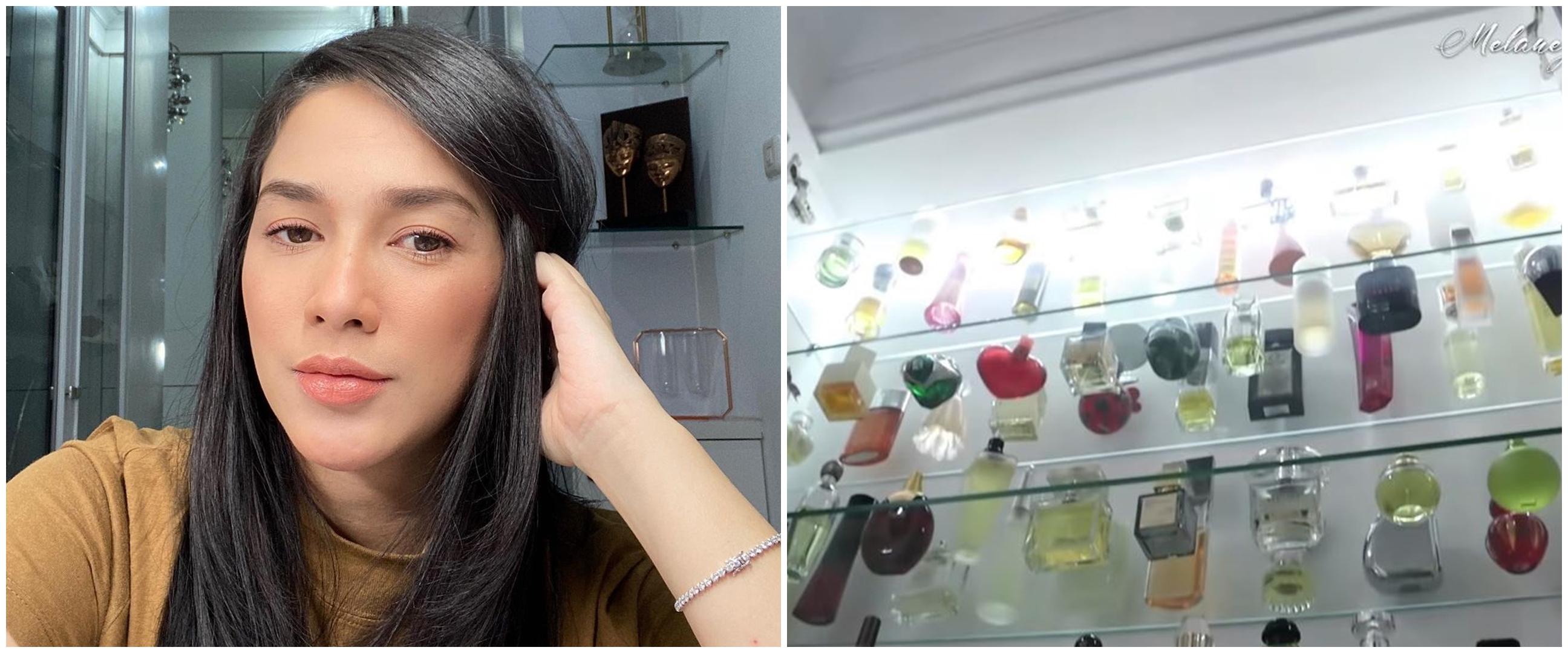 10 Potret ruang parfum Ussy Sulistiawaty, koleksi termahal Rp 12 juta